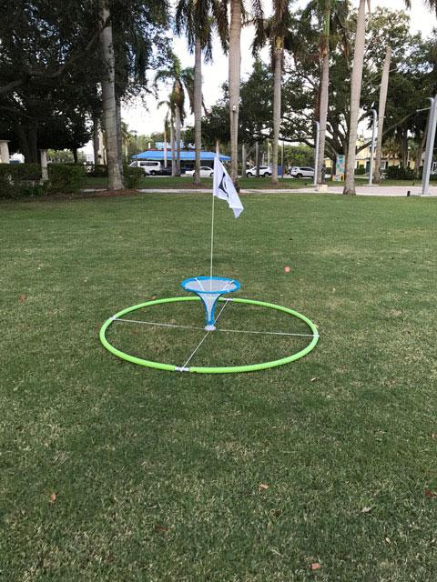 Target Golf Games and Scoring